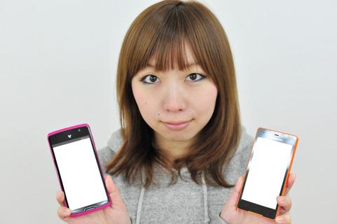 スマートフォン2台