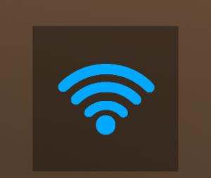 Wi-Fi ウィジェット シンプル