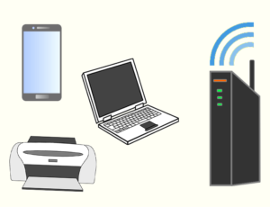 Wi-Fiとは イメージ