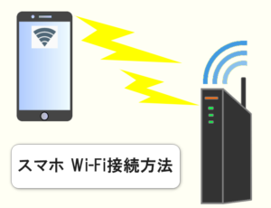 スマホ Wi-Fi接続方法