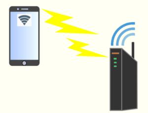 スマホ Wi-Fi 接続