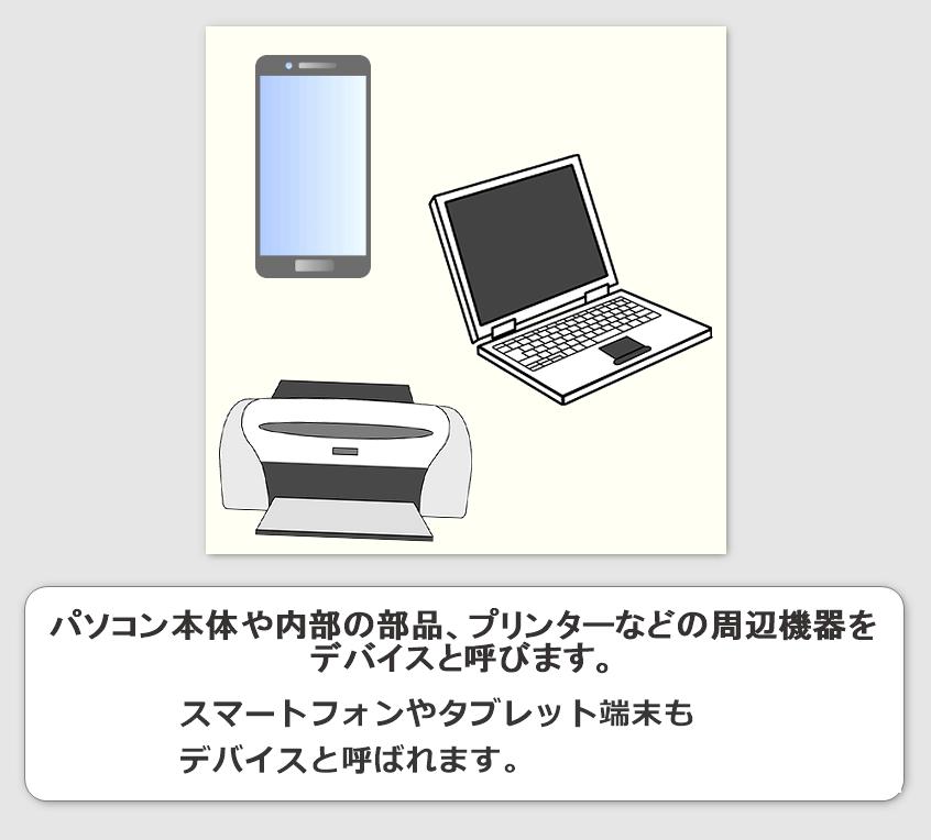 デバイスとは