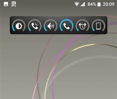 Slider Widget 音量調節ウィジェット