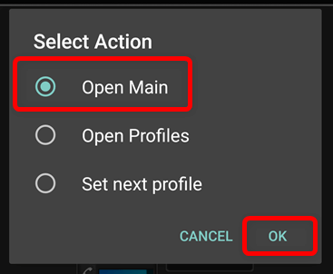 Open Main