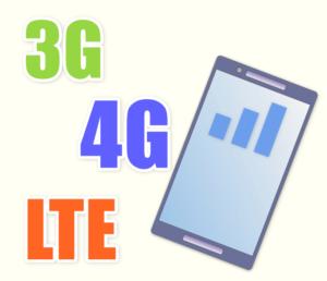 3G、4G、LTE