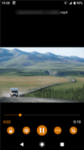 VLC for Android 使い方