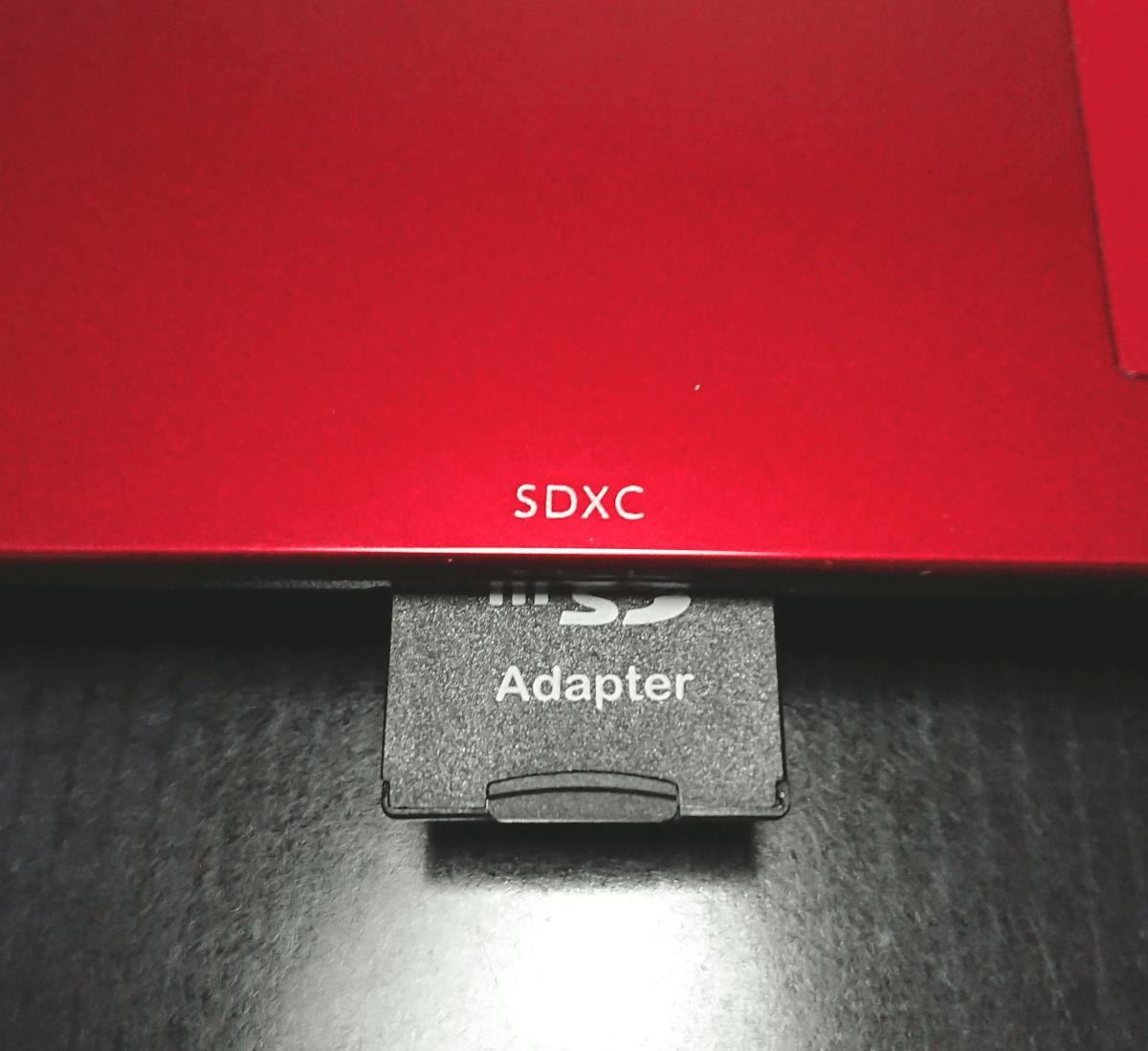 スマホの写真 micro SDカードでパソコンに取り込む