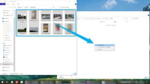 micro SDカードの写真をPCへコピー
