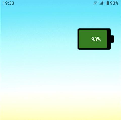 バッテリーウィジェット アプリ